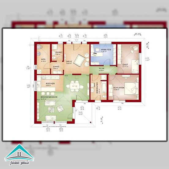 فضای عمومی و فضای خصوصی یک خانه