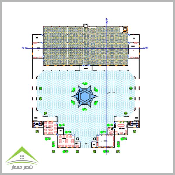 ویژگی های مهم پروژه کامل طراحی مسجد