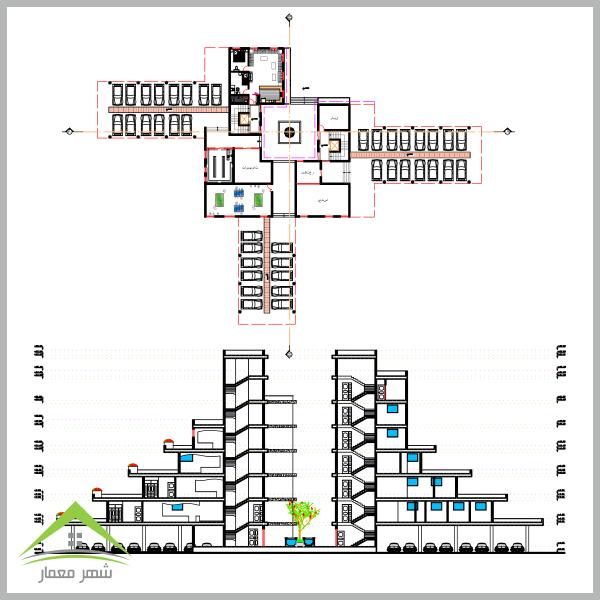 ویژگی های اصلی پروژه مجتمع مسکونی