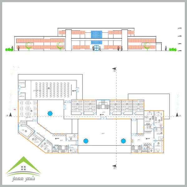 ویژگی های اصلی پروژه دانشکده معماری