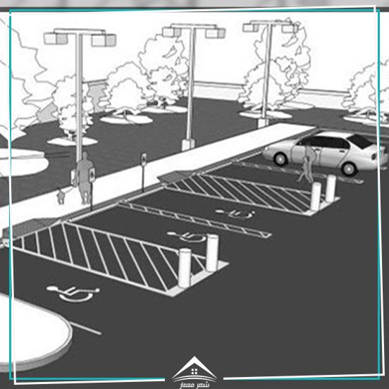 اصول و ضوابط پارکینگ و محاسبه رامپ