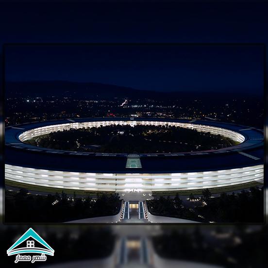 نماد ساختمان عظیم حلقهای اپل پارک