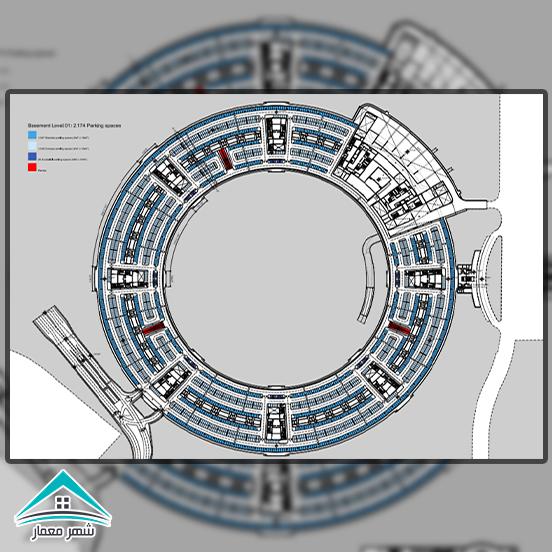 ویژگیها و مشخصات ساختمان اپل پارک